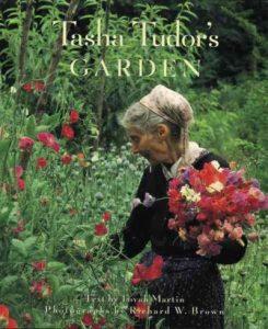 Shows the artist's Vermont garden