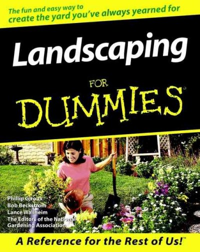 Provides solutions to common landscaping problems